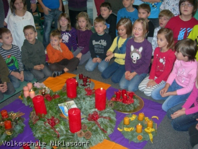 Adventkranzweihe - 05