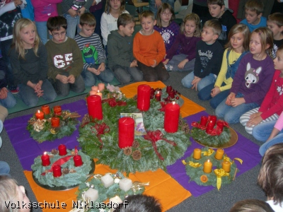 Adventkranzweihe - 07